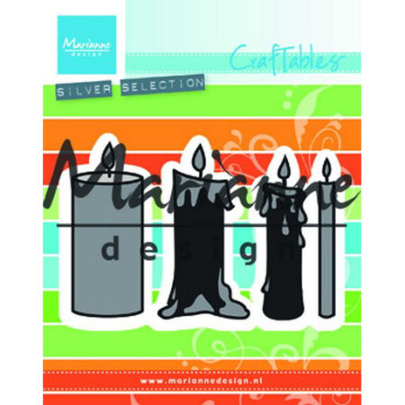 Marianne Design Dies - Candles Set - CR1426
