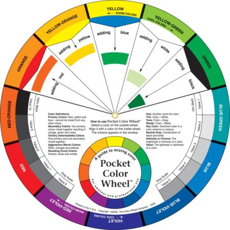 "Pocket Color Wheel 5.125"" - 3501"
