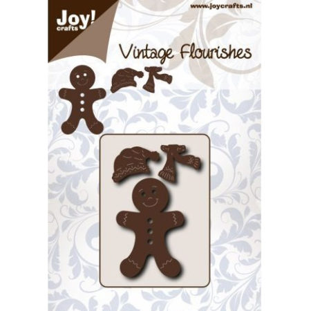 Joy Crafts - Gingerbread - Julekagemand - 6003/0076