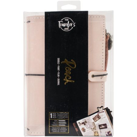 Prima Traveler's Journal Leather Essential - Peach - 630348