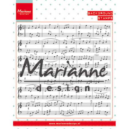 MARIANNE DESIGN - Music Notes - CS0997