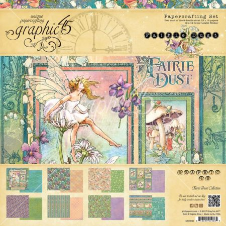 Graphic 45 - Double-Sided Paper Pad - Fairie Dust - 4501641