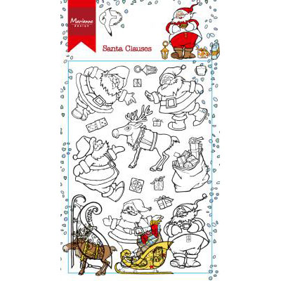 Marianne Design - Hetty's Santa Claus - HT1624