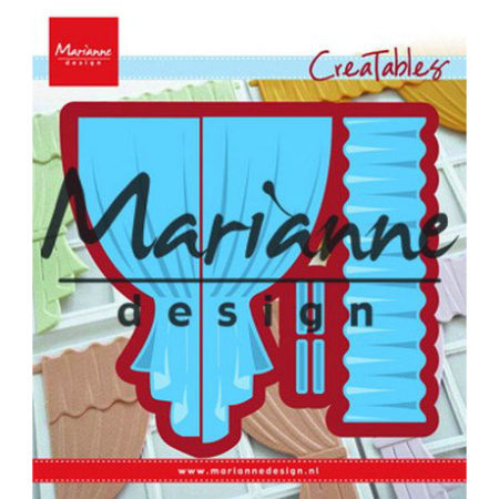 Marianne Design Dies - Curtains - Gardiner - LR0502