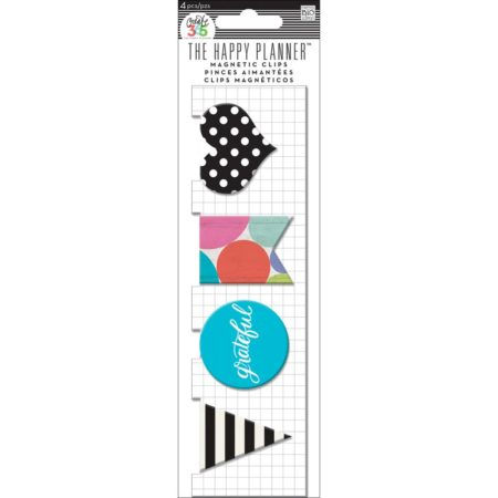 Create 365 Happy Planner Magnetic Clips - Grateful