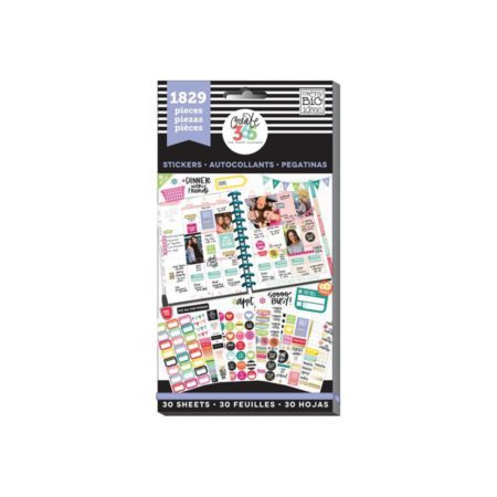 Happy Planner-Create 365 Sticker Value Pack Planner Basics