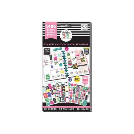 Happy Planner-Create 365 Sticker Value Pack Everyday