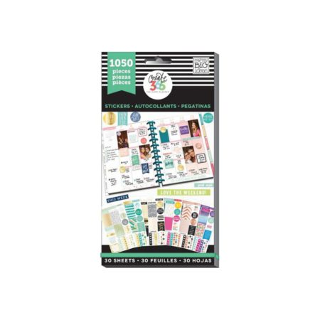 Happy Planner-Create 365 Sticker Value - This Colorful Life