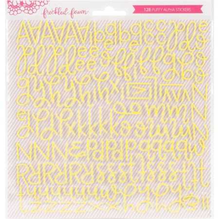 Freckled Fawn - Yellow Script - PSSCRPTY