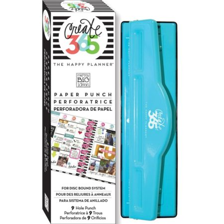 Create 365 Happy Planner Big Punch - 9 Holes