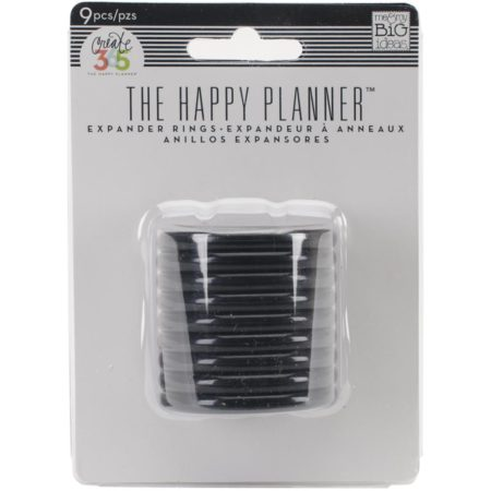 Create 365 Happy Planner Discs - Black 1.75""