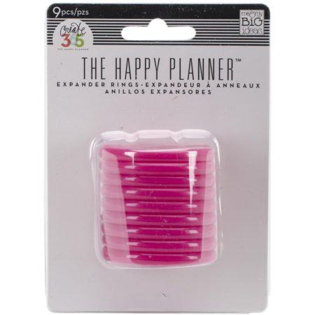 Create 365 Happy Planner Discs - Pink 1.75""