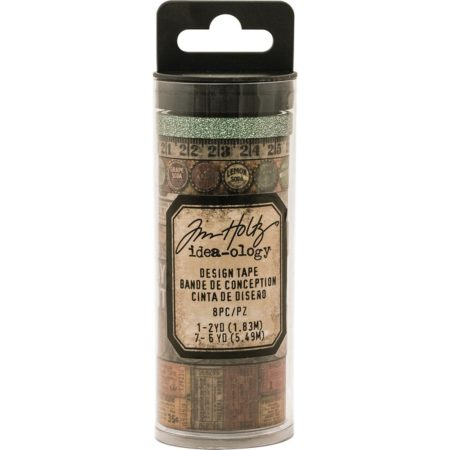 Tim Holtz - Idea-0logy Design Tape - Vintage