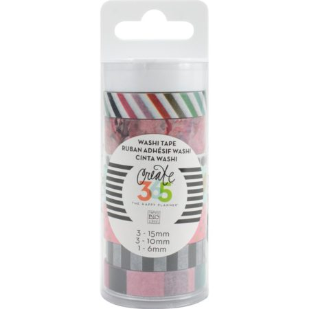 Create 365 The Happy Planner Washi Tape - Peony Floral