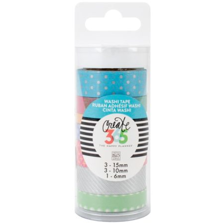 Create 365 The Happy Planner Washi Tape - Neon