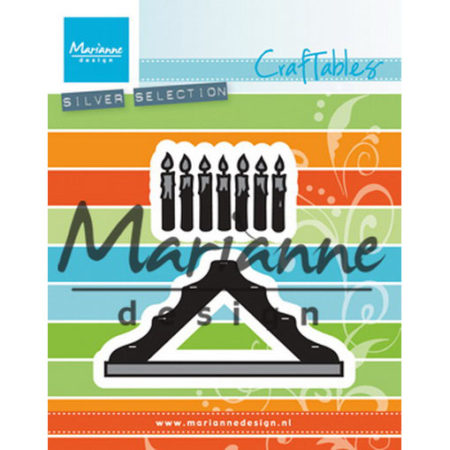 Marianne Design Dies - Candle Bridge - CR1427