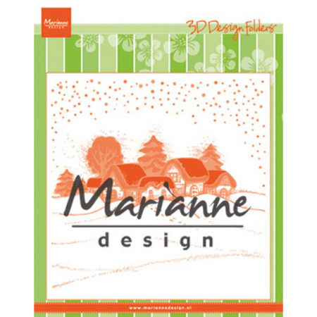 MARIANNE DESIGN - Wintervillage - DF3442