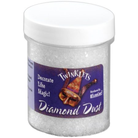 FLORACRAFT-Diamond Dust Crystal Twinklets - Iridescent