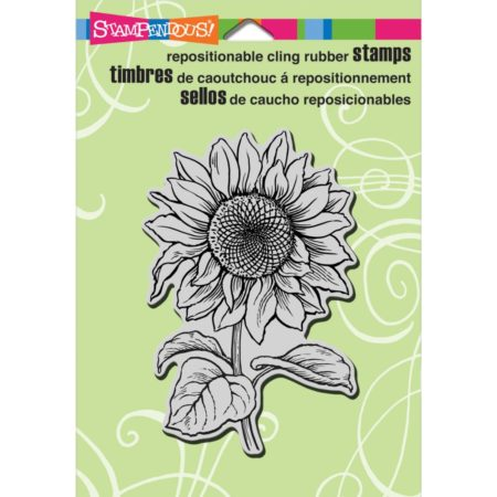 Stampendous - Cling Stamp - Sunflower - CRP221