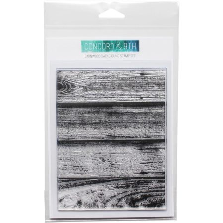 Concord & 9th - Barnwood background stamps set - 10107