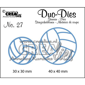 Crealies Crea Duo Dies 27 volleybolde - 2491