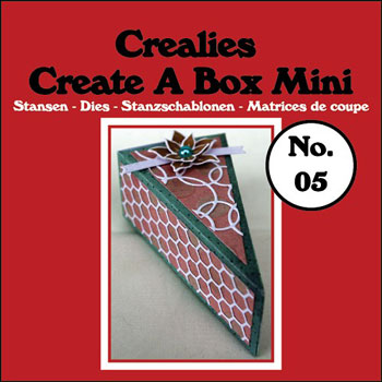 Crealies Crea - Create A Box Mini Kagestykke - CCABM05