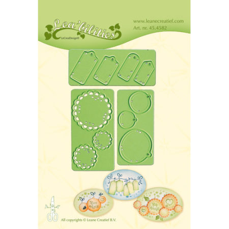 Leane - Die Cut & Embossing - Little Banners & Labels - 45.4582