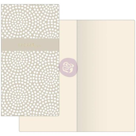 Prima Traveler's Refill Notebook - Dotted Circles W/Ivory Paper
