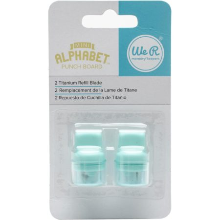 We R Memory Keepers - Mini Alphabet Punch Board Blade Refill