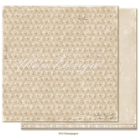 Maja Design - Celebration - Champagne - 972
