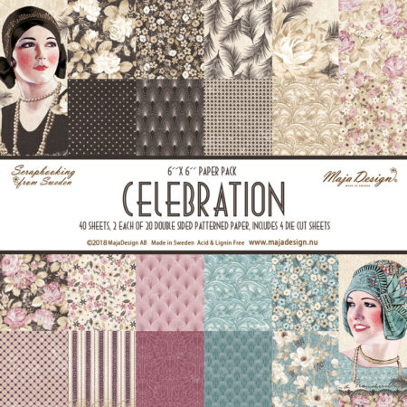 "Maja Design - Celebration - Paper Pack - 6 x 6"" - 979"
