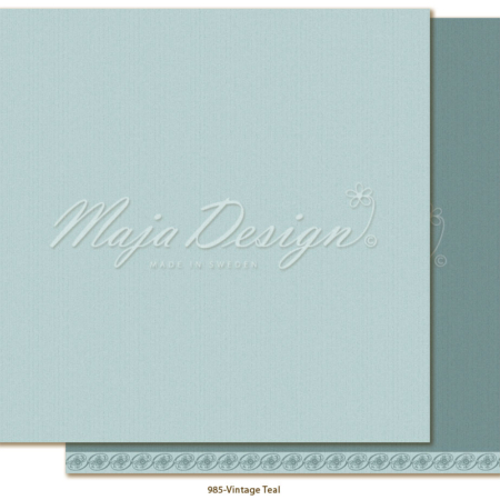 Maja Design - Monochrom - Shades of Celebration - Vintage Teal - 985