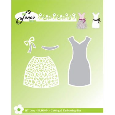 By Lene Dies - Dress - Kjole - BLD1034