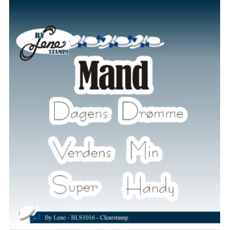 By Lene Stamps - Dagens Mand - BLS1016