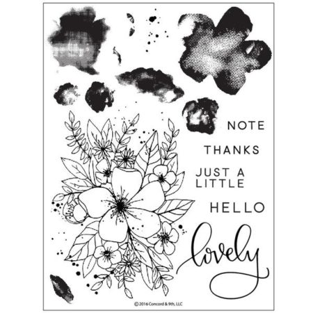 Concord & 9th - Hello Lovely Stamp set - 10135