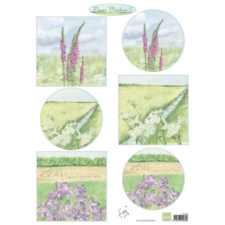 Marianne Design 3D ARK - Tiny's Flower Meadow 2 - IT602