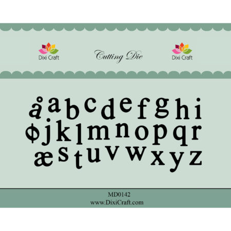 Dixi Craft Dies - Alphabet – Lower case - MD0142