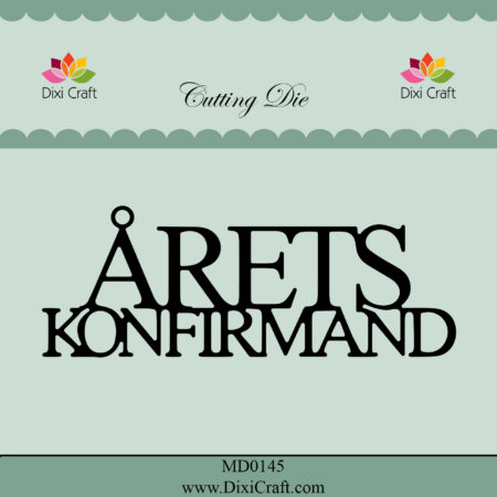 Dixi Craft Dies - Årets Konfirmand - MD0145
