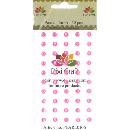 Dixi Craft - Pearls 5 mm - Pink - PEARL0106