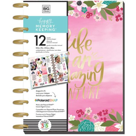 Happy Planner - Me & My Big Ideas - Life Is An Amazing Adventure