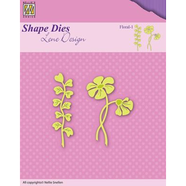 Nellie´s Choice - Dies - Lene Design - Floral-1
