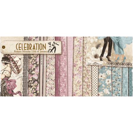 Maja Design - Celebration - Paper Pack - 30x30""