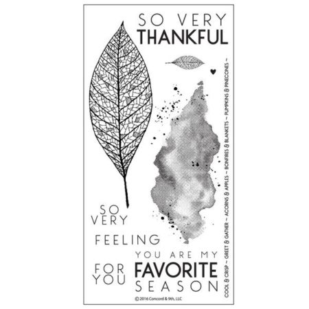 Lace Leaf Stamp Set – 10123