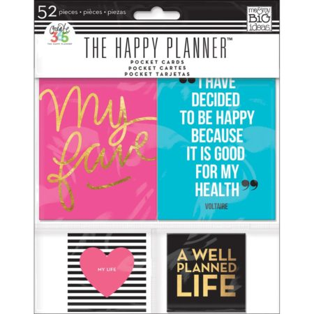 Happy Planner - Create 365 - Pocket Cards - Smile - PC-04