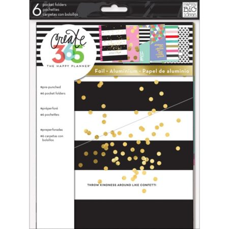 Happy Planner - Create 365 - Well Planned Life - Pocket Folders - FOLD-02