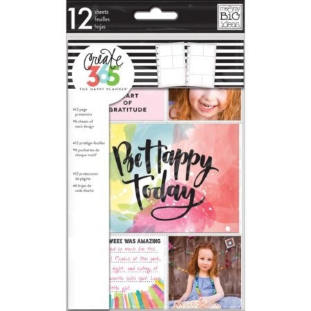 Happy Planner - Create 365 - Page Protectors - ALPS-04