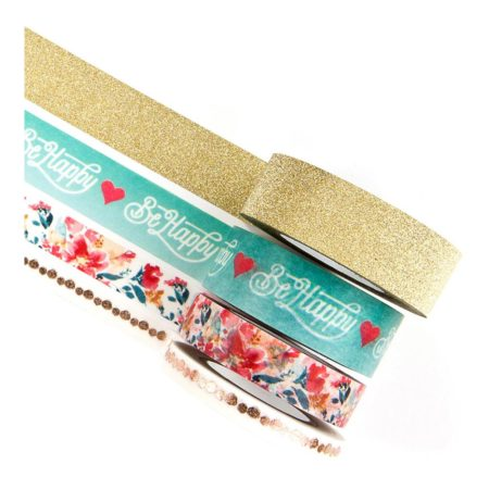 Prima - Zella Teal Decorative Tape - Sweet Notes - 595180