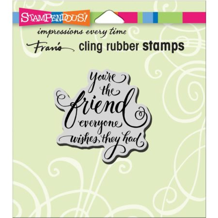 Stampendous - Cling Stamp - Everyone Wishes - CRF241