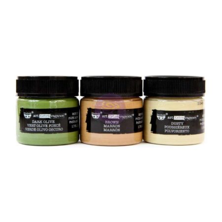 Finnabair Art Extra vagance - Rust Effect Paste Set - Camouflage