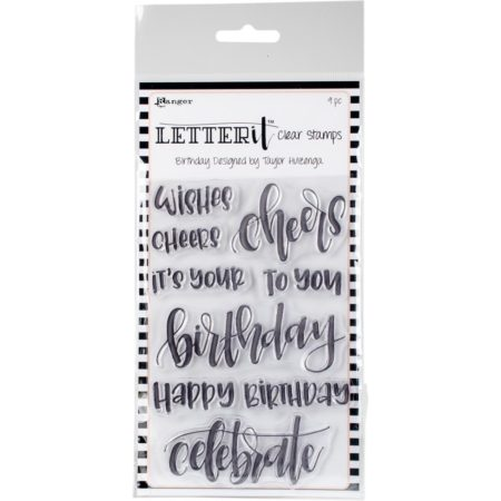 Rangers Letterit - Clear Stamps - Birthday - LEC59295